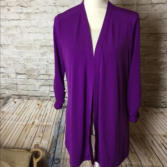 Susan Graver Jackets & Blazers - Susan Graver purple jacket